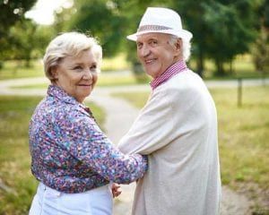 Senior-Couples-Walking-at-the-Park